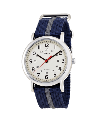 Timex Unisex -Weekender- Watch With Pattern Band